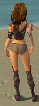 Ranger Tyrian Armor F gray chest feet back