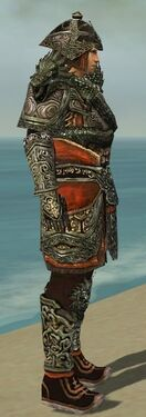 Warrior Elite Canthan Armor M gray side