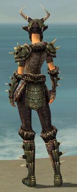 Warrior Elite Charr Hide Armor F gray back