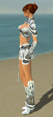 Elementalist Elite Iceforged Armor F gray side
