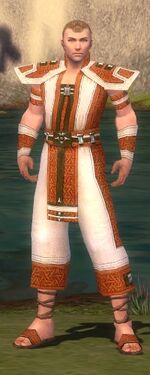 Monk Elite Saintly Armor M dyed front