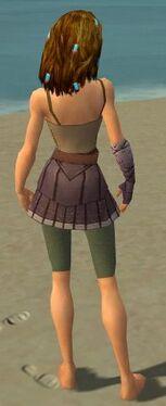 Ranger Tyrian Armor F gray arms legs back