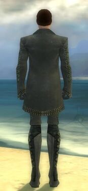 Mesmer Elite Enchanter Armor M gray back