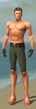 Mesmer Enchanter Armor M gray arms legs front