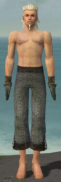 Elementalist Sunspear Armor M gray arms legs front