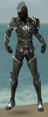 Necromancer Tyrian Armor M gray front