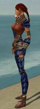 Ranger Elite Drakescale Armor F dyed side alternate