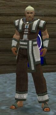 Monk Elite Woven Armor M gray front