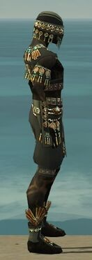Ritualist Elite Luxon Armor M gray side