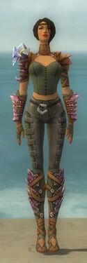 Ranger Drakescale Armor F gray front