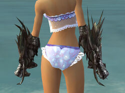 Dragon Gauntlets F gray back