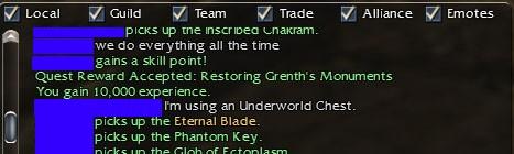 Eternal Blade from UW Chest