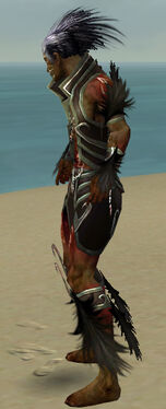 Necromancer Sunspear Armor M gray side