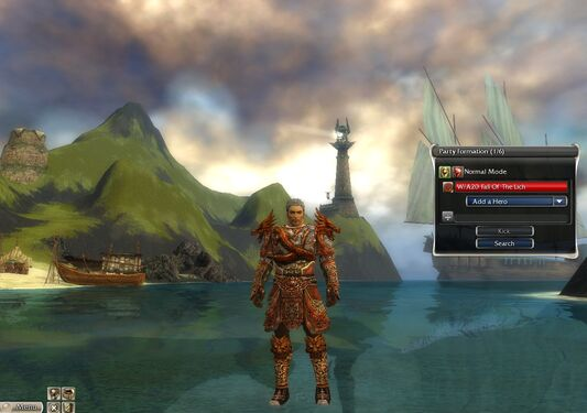 Warrior Elite Canthan Armor M nohelmet