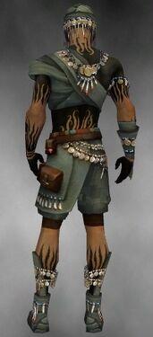 Ritualist Luxon Armor M gray back