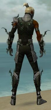 Assassin Elite Luxon Armor M gray back