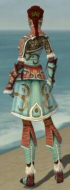 Ranger Elite Canthan Armor F dyed back