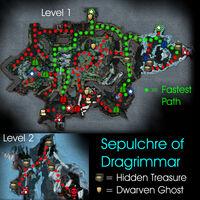 Sepulchre Of Dragrimmar Map