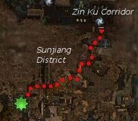 Warrior's Construct map