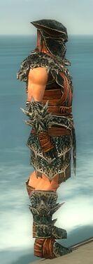 Warrior Luxon Armor M gray side