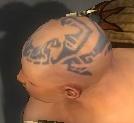 Monk Sunspear Armor M gray head side