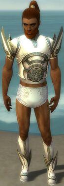 Paragon Asuran Armor M gray chest feet front