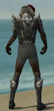 Necromancer Monument Armor M gray chest feet back