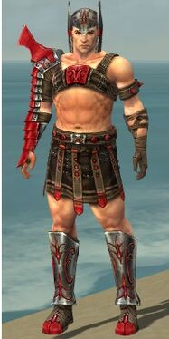 Warrior Elite Gladiator Armor M dyed front