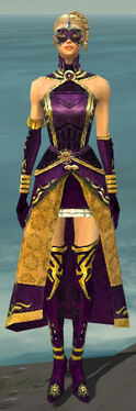 Mesmer Sunspear Armor F dyed front