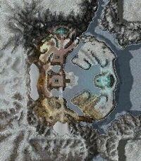 Frozen Isle map