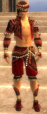 Ritualist Vabbian Armor M dyed front
