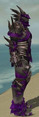 Warrior Primeval Armor M dyed side