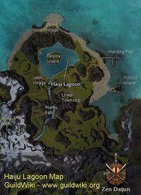 Haiju Lagoon map