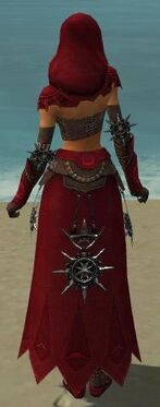 Dervish Elite Sunspear Armor F dyed back