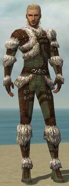 Ranger Elite Fur-Lined Armor M gray front