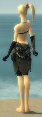 Ritualist Kurzick Armor F gray arms legs back