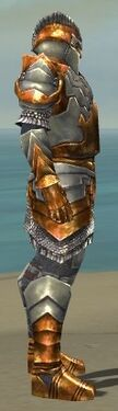 Warrior Templar Armor M dyed side