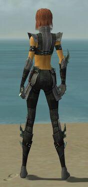Assassin Luxon Armor F gray back