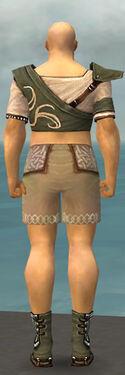 Monk Shing Jea Armor M gray chest feet back