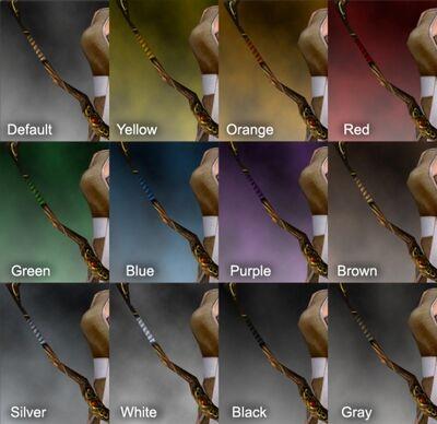 Vabbian Longbow Dye Chart