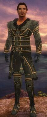 Mesmer Primeval Armor M gray front