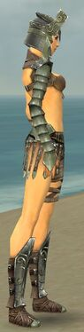 Warrior Elite Gladiator Armor F gray side alternate