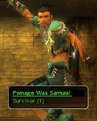 Pwnage was Samuraism