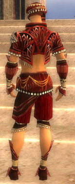 Ritualist Vabbian Armor M dyed back