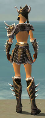Warrior Norn Armor F dyed back