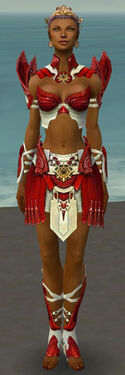Paragon Elite Sunspear Armor F dyed front