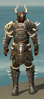 Warrior Norn Armor M gray front
