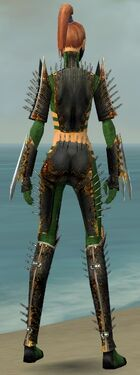 Assassin Exotic Armor F dyed back