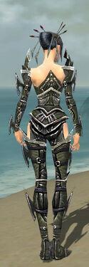 Necromancer Elite Profane Armor F gray back