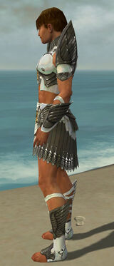 Paragon Elite Sunspear Armor M gray side